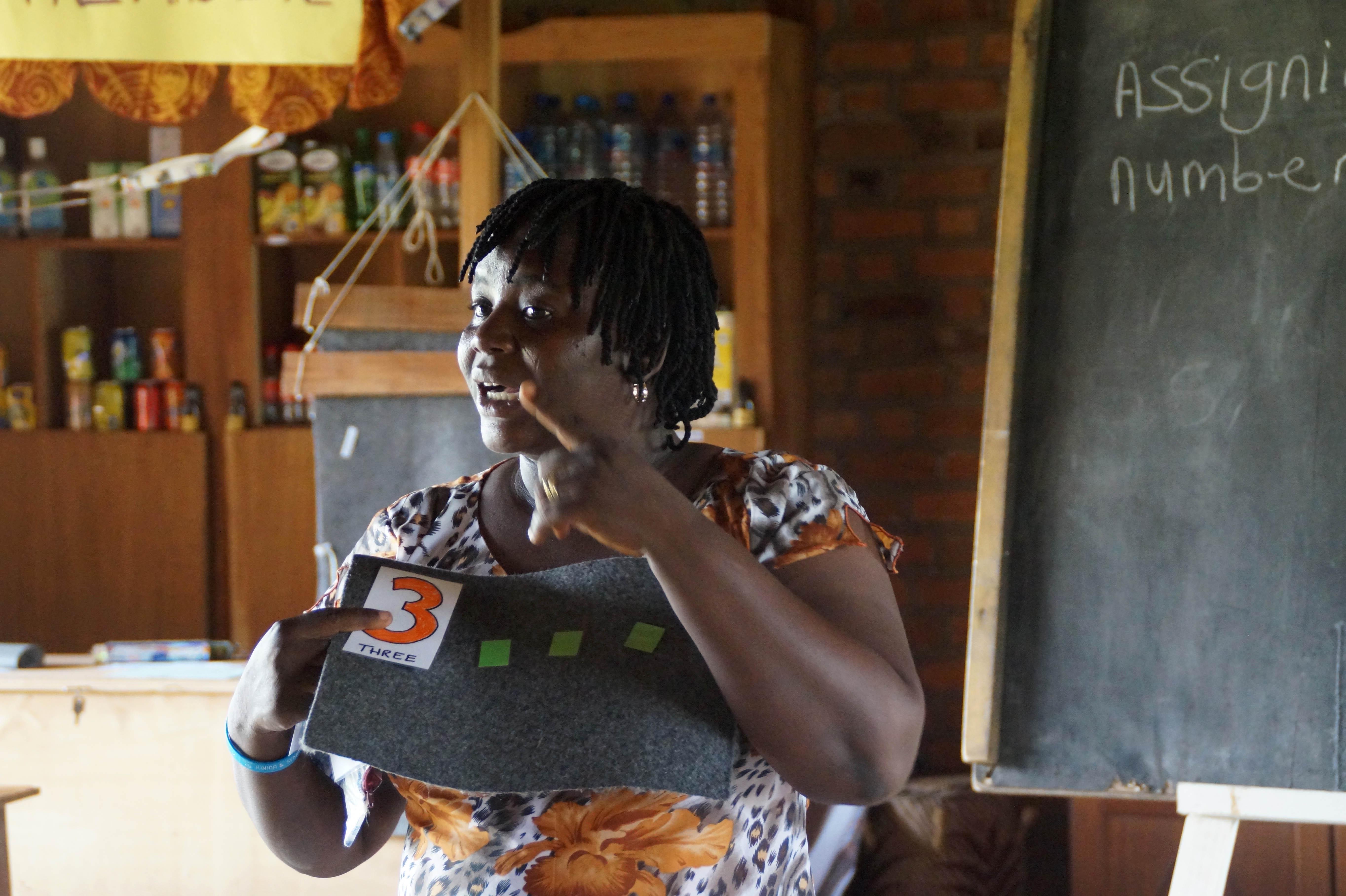Endspurt!!!   Selina in Ghana